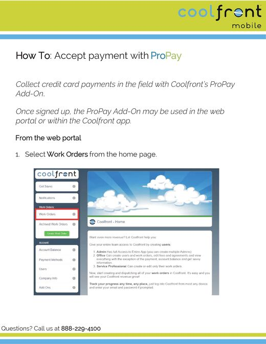 How to Accept Payment with ProPay - Web Portal