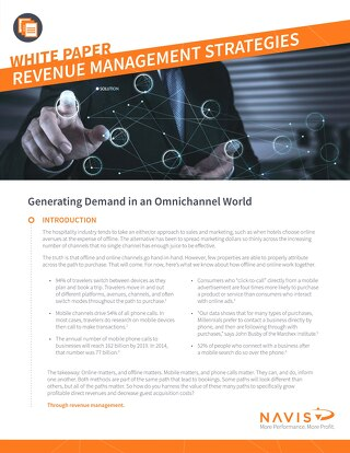 Revenue Management Whitepaper