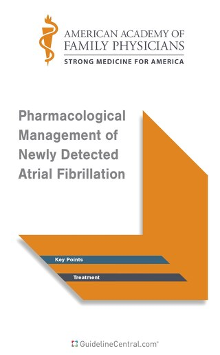 Atrial Fibrillation - Pharmacological Management