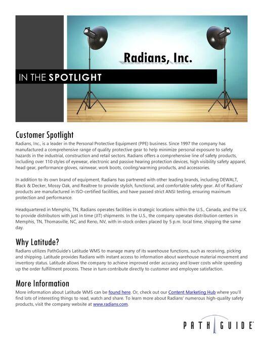 Radians, Inc.