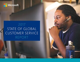 The 2017 Global State of Customer Service Report