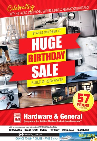 57th Birthday Sale Celebrations