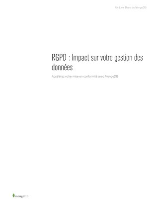 GDPR French Whitepaper