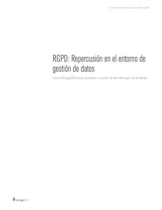GDPR Spanish Whitepaper