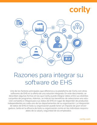 Razones para integrar su software de EHS