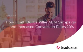 How Tipalti Increased Conversion Rates By 20%