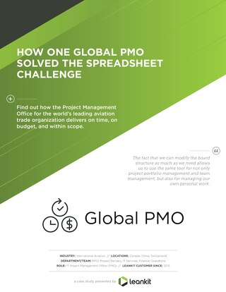 Global PMO Case Study