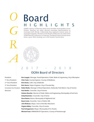 FINAL Board Highlights - September 2017