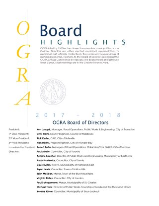 Nov 1 - 2017 September Board Highlights