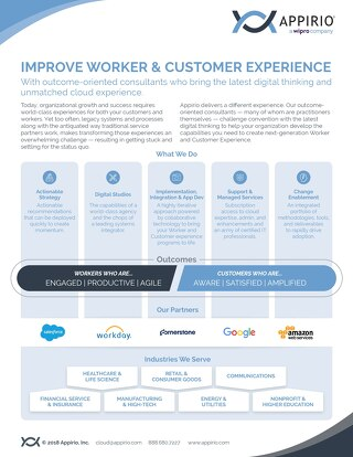 Improve Worker & Customer Experience