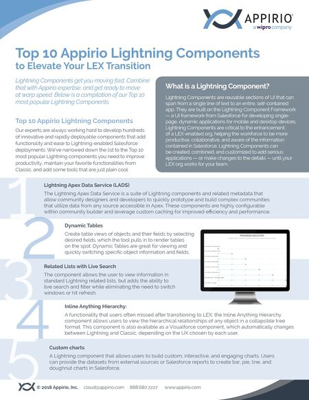 resources top 10 lightning components to elevate your lex transition