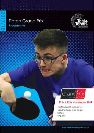 Tipton Grand Prix programme 2017