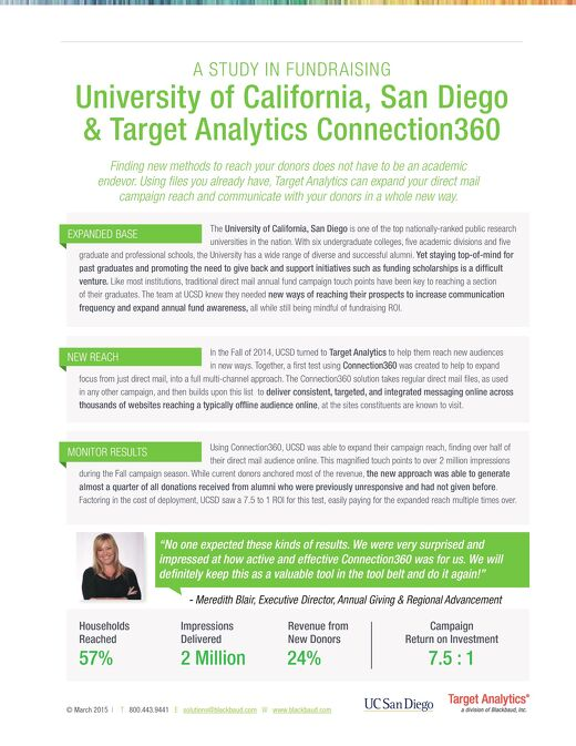 Customer Story - UC San Diego Connection360
