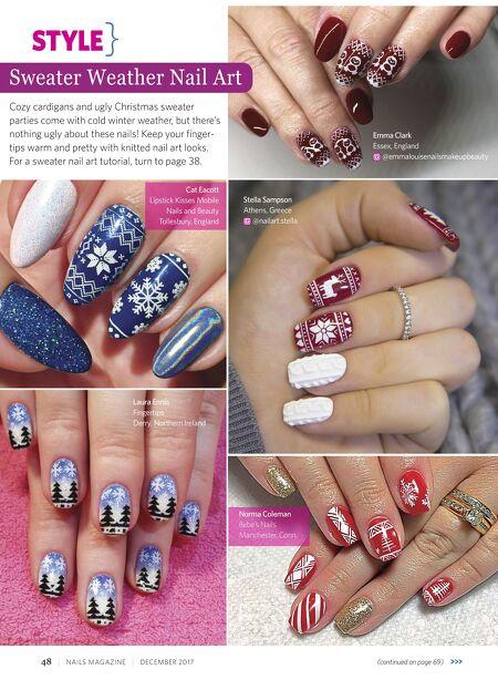 Nails Magazine Dec 2017