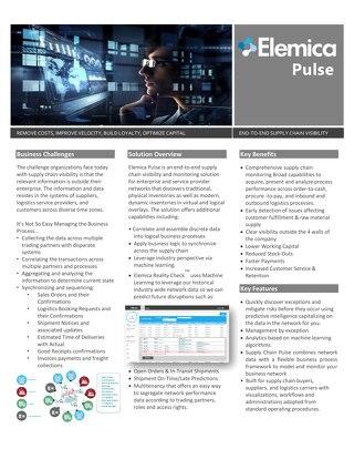 Elemica Pulse