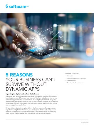 5 reasons you need Dynamic Apps