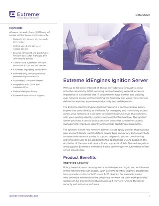 Extreme idEngines Ignition Server