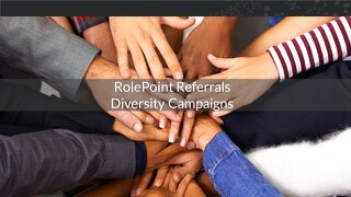 RolePoint Diversity, Social Sharing and Employer Branding Campaigns