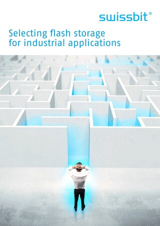 Selecting flash storage for industrial applications