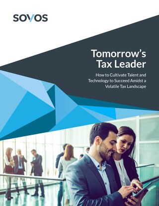 Tomorrows Tax Leader - How to Cultivate Talent and Technology to Succeed Amidst a Volatile Tax Landscape