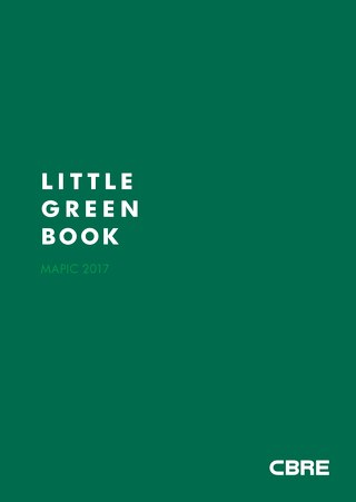 Little Green Book MAPIC 2017