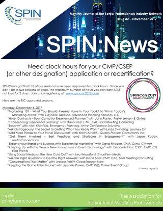 SPIN:News November 2017
