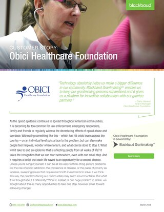 Obici Healthcare Foundation: Customer Story