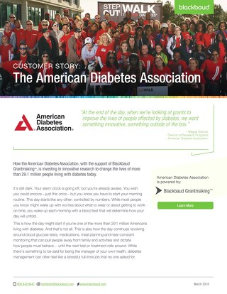American Diabetes Association - Customer Story
