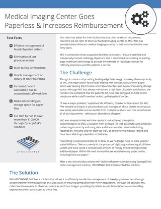 How One Hospital Goes Paperless