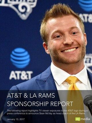 AT&T, Sponsorship Report - Sean McVay