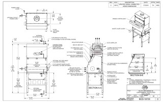 [Drawing] NU-813-300 Containment Ventilated Enclosure (CVE)