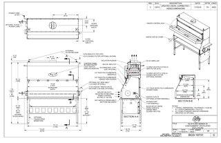 [Drawing] NU-813-600 Containment Ventilated Enclosure (CVE)