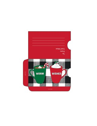 DIY Holiday Gift Card Sleeves