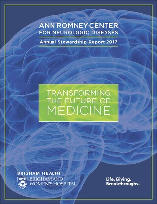 2017 Ann Romney Center for Neurologic Diseases Annual Report
