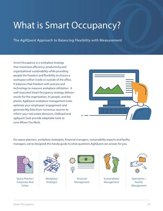 Workplace Smart Occupancy: Balancing Flexibility with Measurement