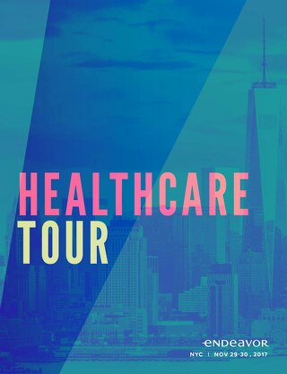 Endeavor NYC Healthcare Tour Agenda (November 29-30, 2017)