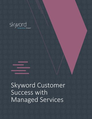 Skyword Customer Success with Managed Services