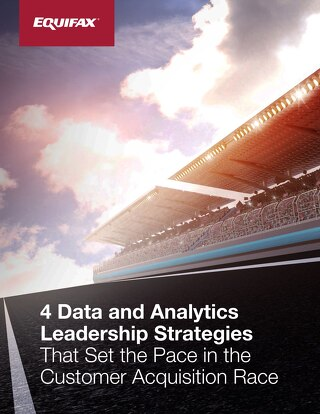 Set the Pace in Customer Acquisition, 4 Data and Analytics Strategies