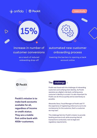 Case study: Pockit