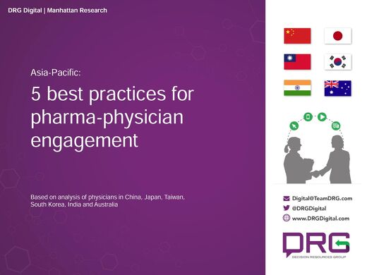 5 Best Practices for Pharma-Physician Engagement - Asia Pac
