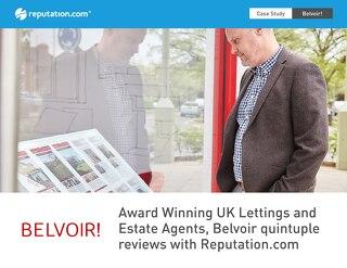 Belvoir Estate Agency Quintuple Reviews - Case Study