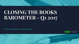Closing the Books Barometer