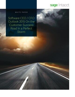 Software CEO CFO Outlook