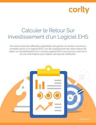 Calculer le Retour Sur Investissement d'un Logiciel EHS