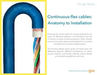 Design Basics: Continuous-Flex Cables