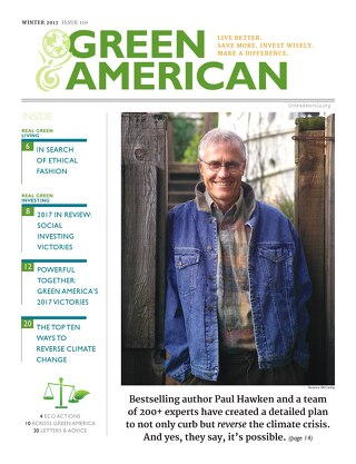 Green American #110, Winter 2017
