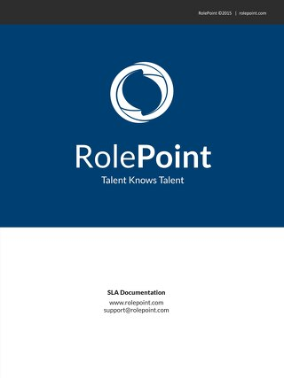RolePoint IT SLA Doc