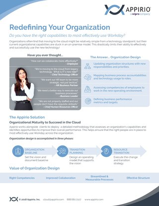 Redefining Your Organization with Workday