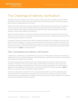 ID Connect® for Identity Verification