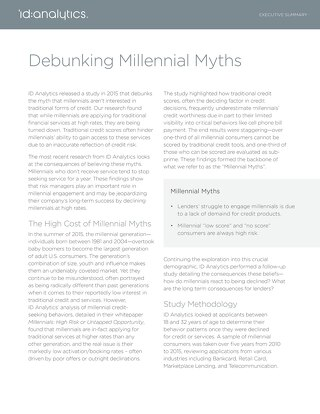 Debunking Millennial Myths